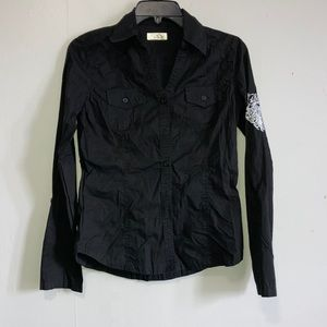 Cello Outfittters button down top size M